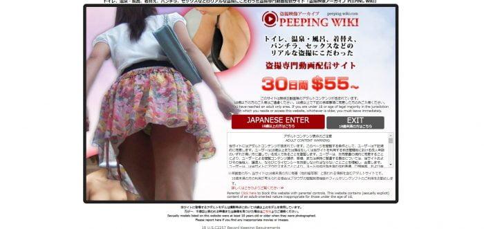 PEEPING WIKIはオススメの有料アダルトサイト